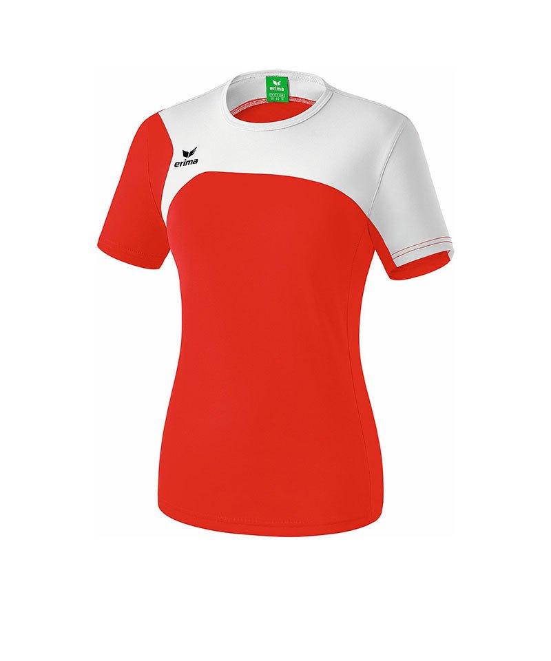 Erima T-Shirt Club 1900 2.0 Damen Rot Weiss - rot