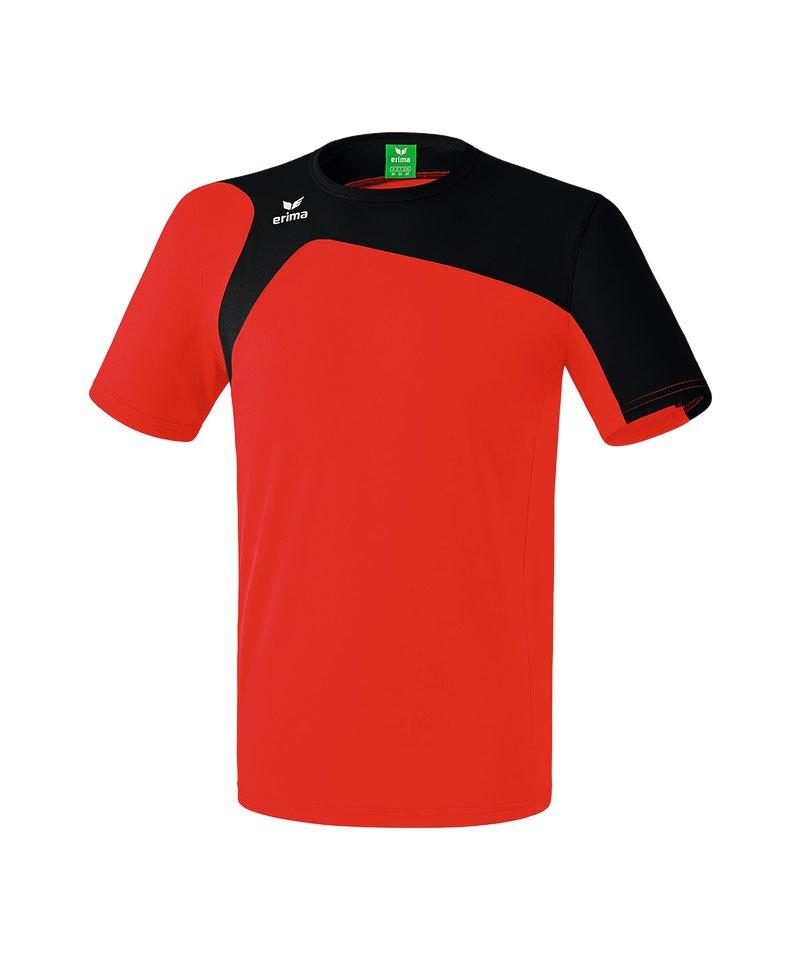 Erima T-Shirt Club 1900 2.0 Rot Schwarz - rot