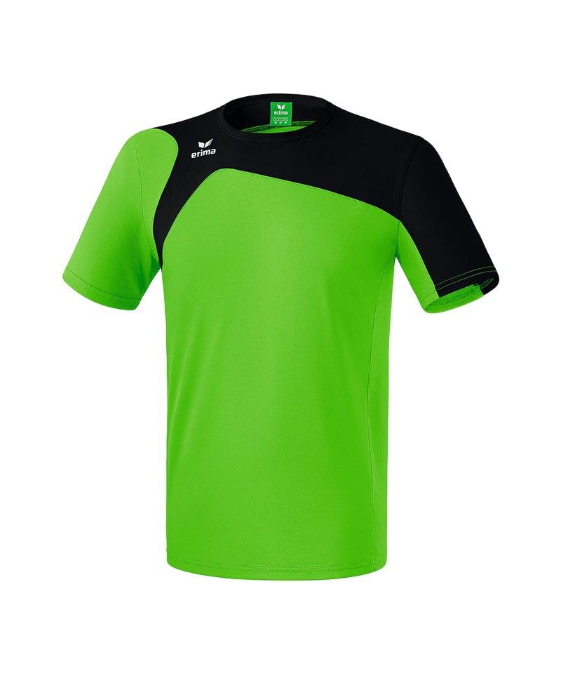 Erima T-Shirt Club 1900 2.0 Kinder Grün Schwarz - gruen