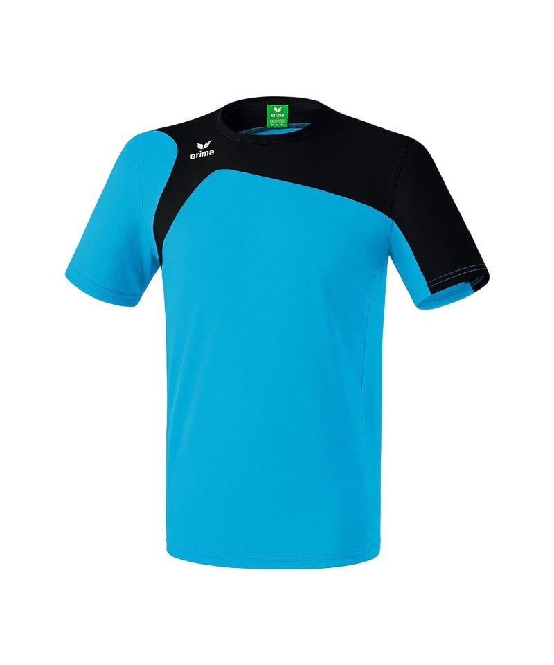 Erima T-Shirt Club 1900 2.0 Blau Schwarz - blau