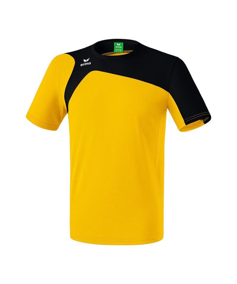 Erima T-Shirt Club 1900 2.0 Kinder Gelb Schwarz - gelb
