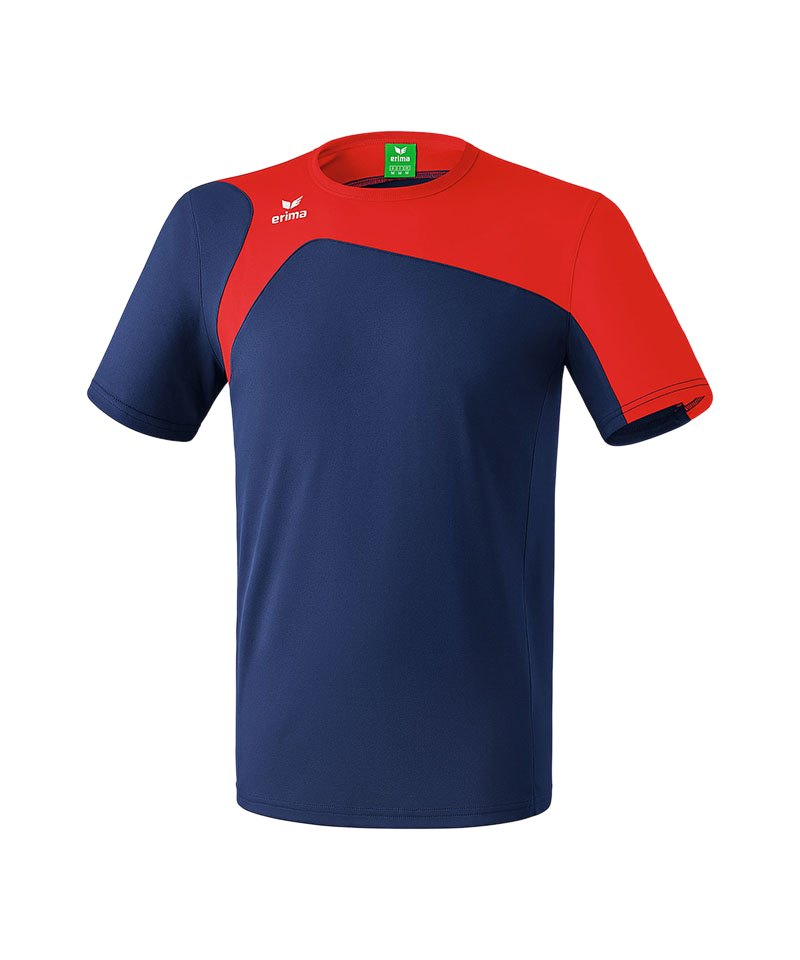 Erima T-Shirt Club 1900 2.0 Blau Rot - blau