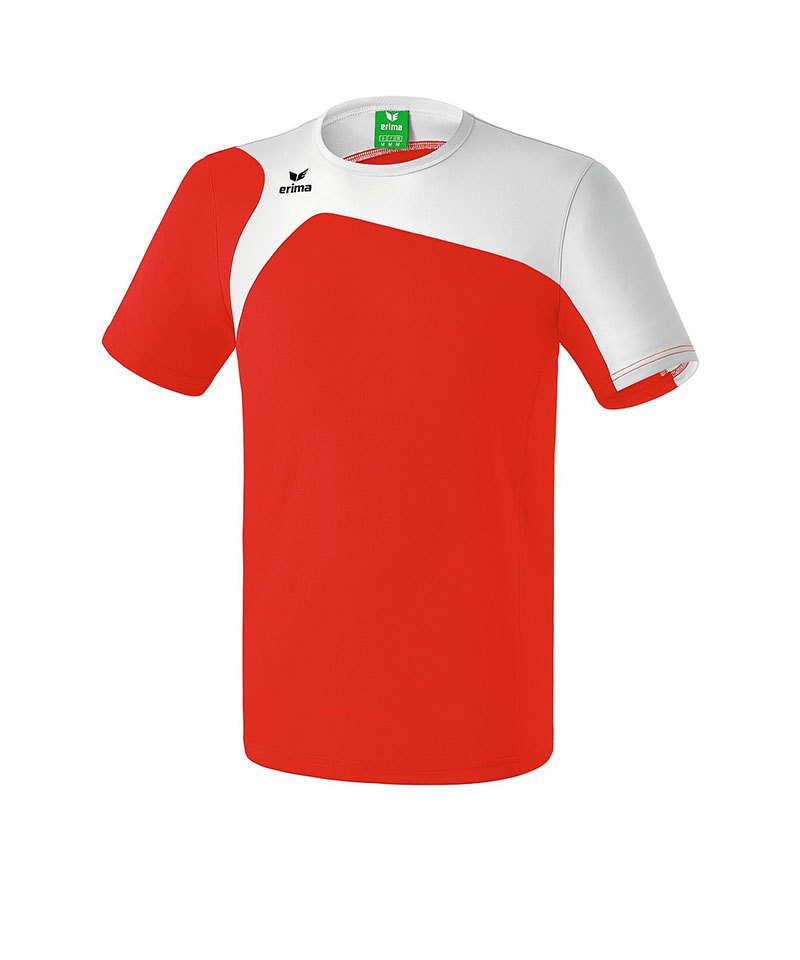 Erima T-Shirt Club 1900 2.0 Kinder Rot Weiss - rot