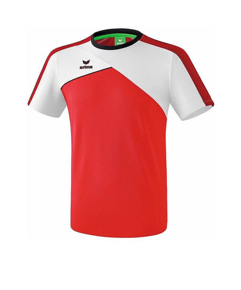 Erima Premium One 2.0 T-Shirt Rot Weiss - rot