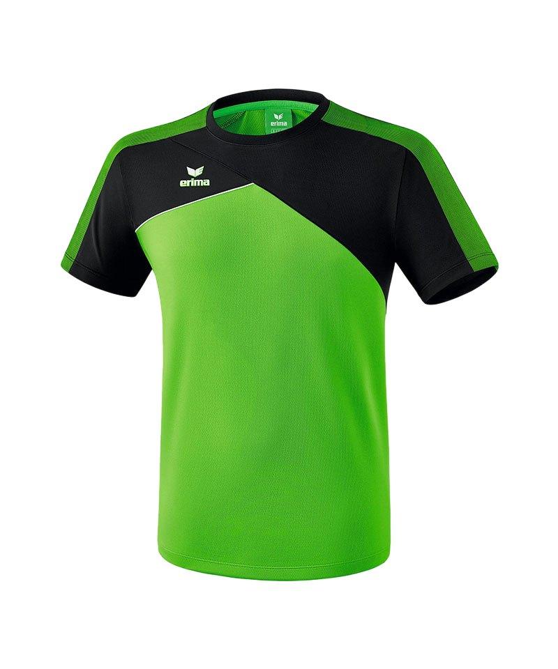 Erima Premium One 2.0 T-Shirt Kids Grün Schwarz - gruen