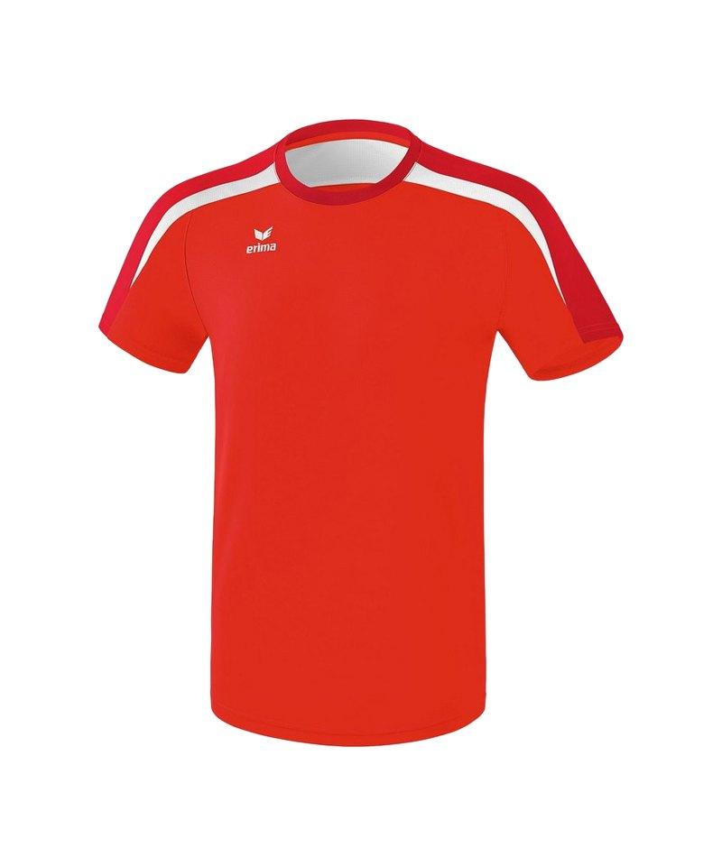 Erima Liga 2.0 T-Shirt Rot Weiss - rot