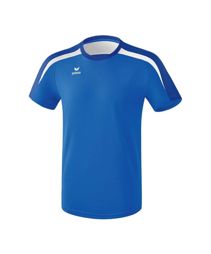 Erima Liga 2.0 T-Shirt Blau Weiss - blau
