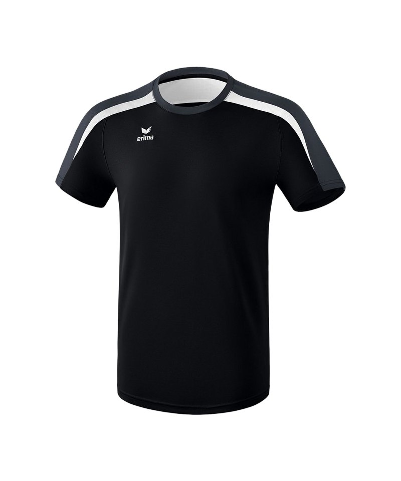 Erima Liga 2.0 T-Shirt Kids Schwarz Weiss Grau - schwarz