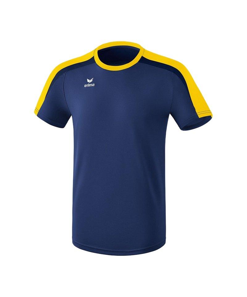 Erima Liga 2.0 T-Shirt Kids Blau Gelb - blau