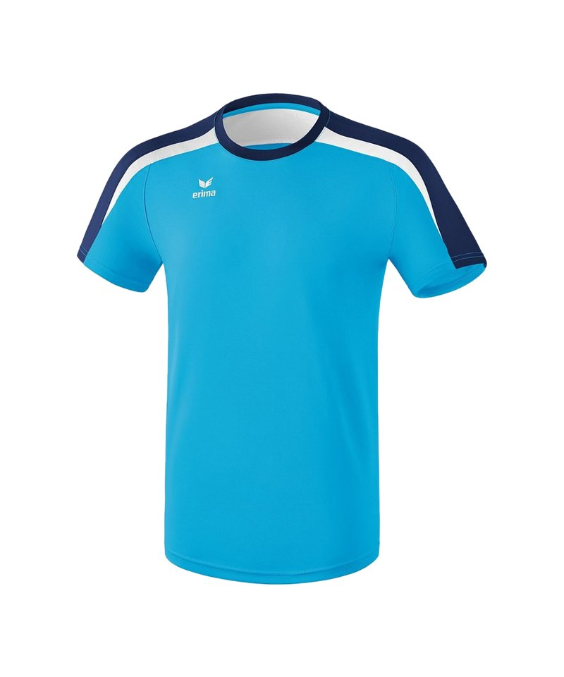 Erima Liga 2.0 T-Shirt Kids Hellblau Blau Weiss - blau