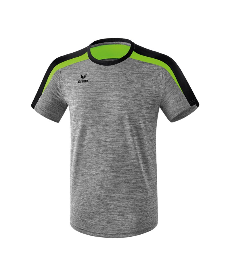Erima Liga 2.0 T-Shirt Grau Schwarz Grün - grau