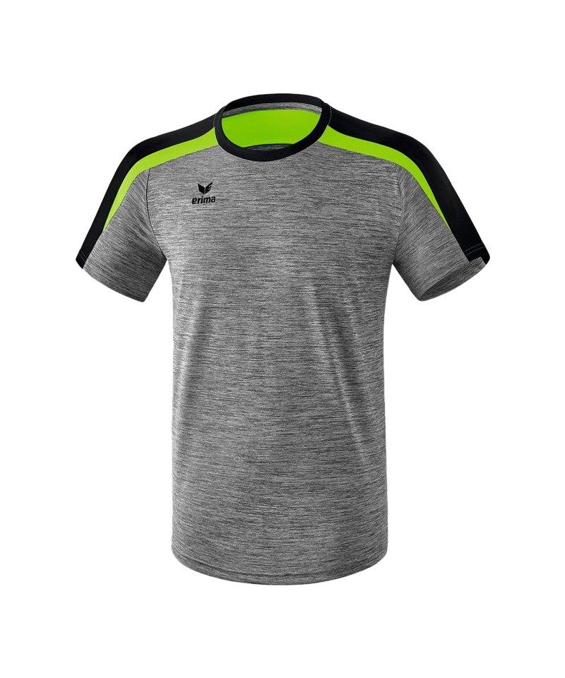 Erima Liga 2.0 T-Shirt Kids Grau Schwarz Grün - grau