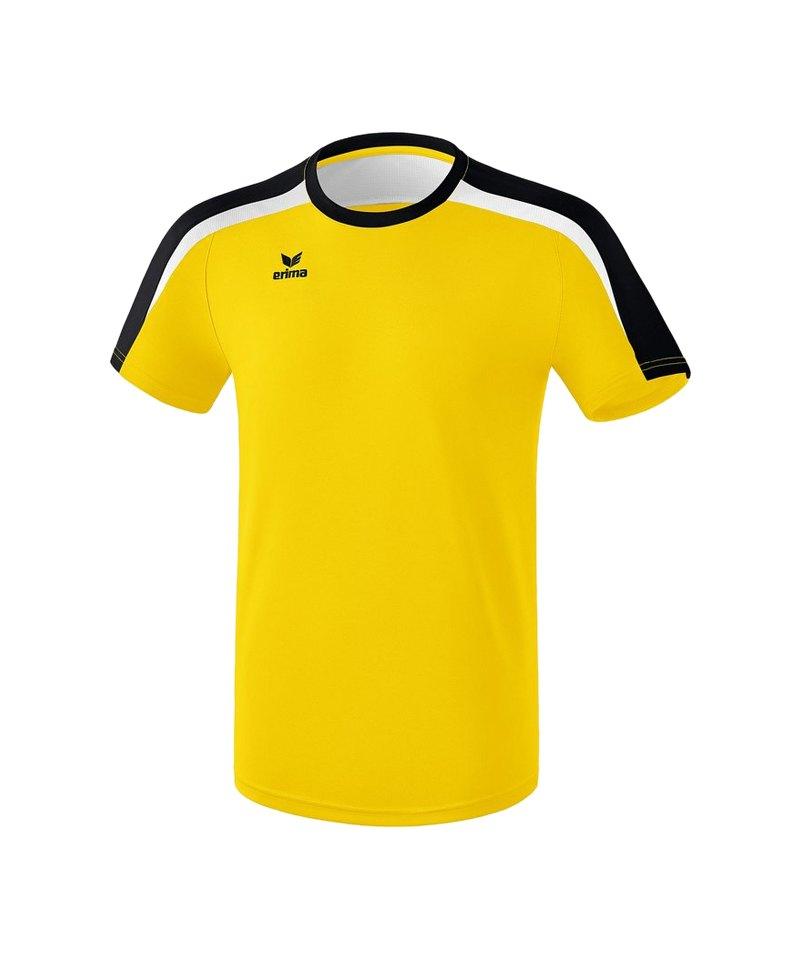 Erima Liga 2.0 T-Shirt Gelb Schwarz Weiss - gelb