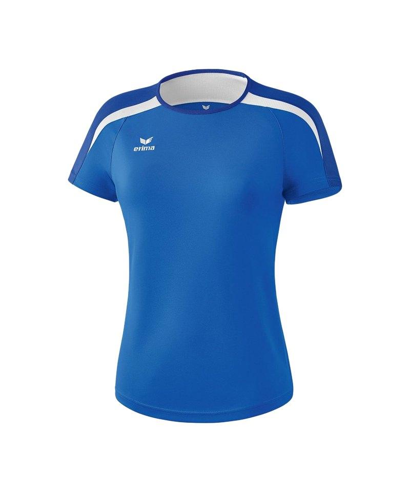 Erima Liga 2.0 T-Shirt Damen Blau Weiss - blau