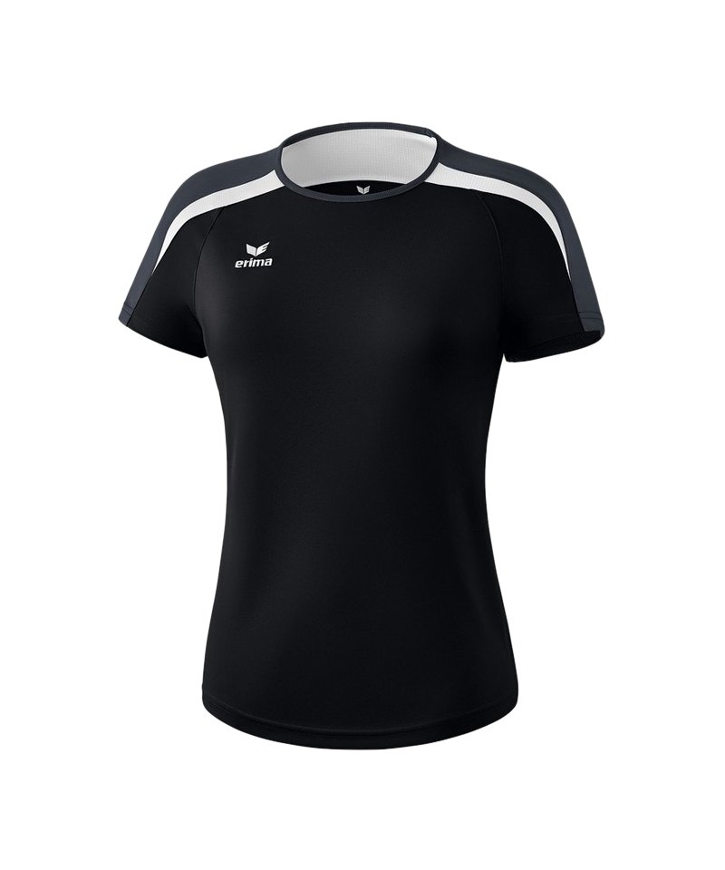 Erima Liga 2.0 T-Shirt Damen Schwarz Weiss Grau - schwarz