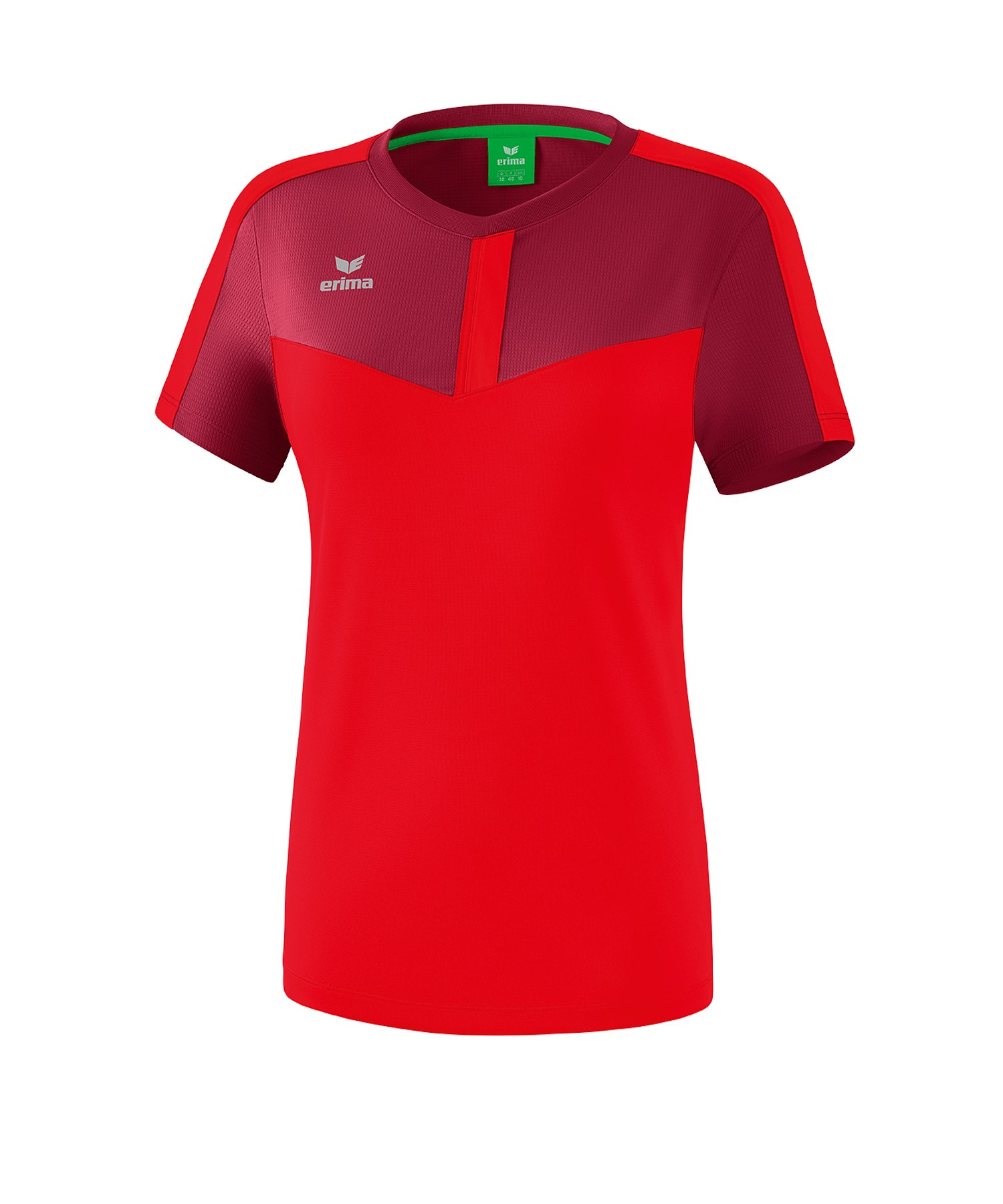 Erima Squad T-Shirt Damen Rot - rot