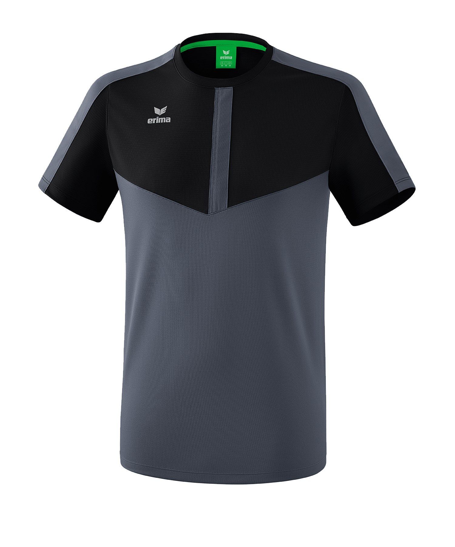 Erima Squad T-Shirt Kids Schwarz Grau - schwarz