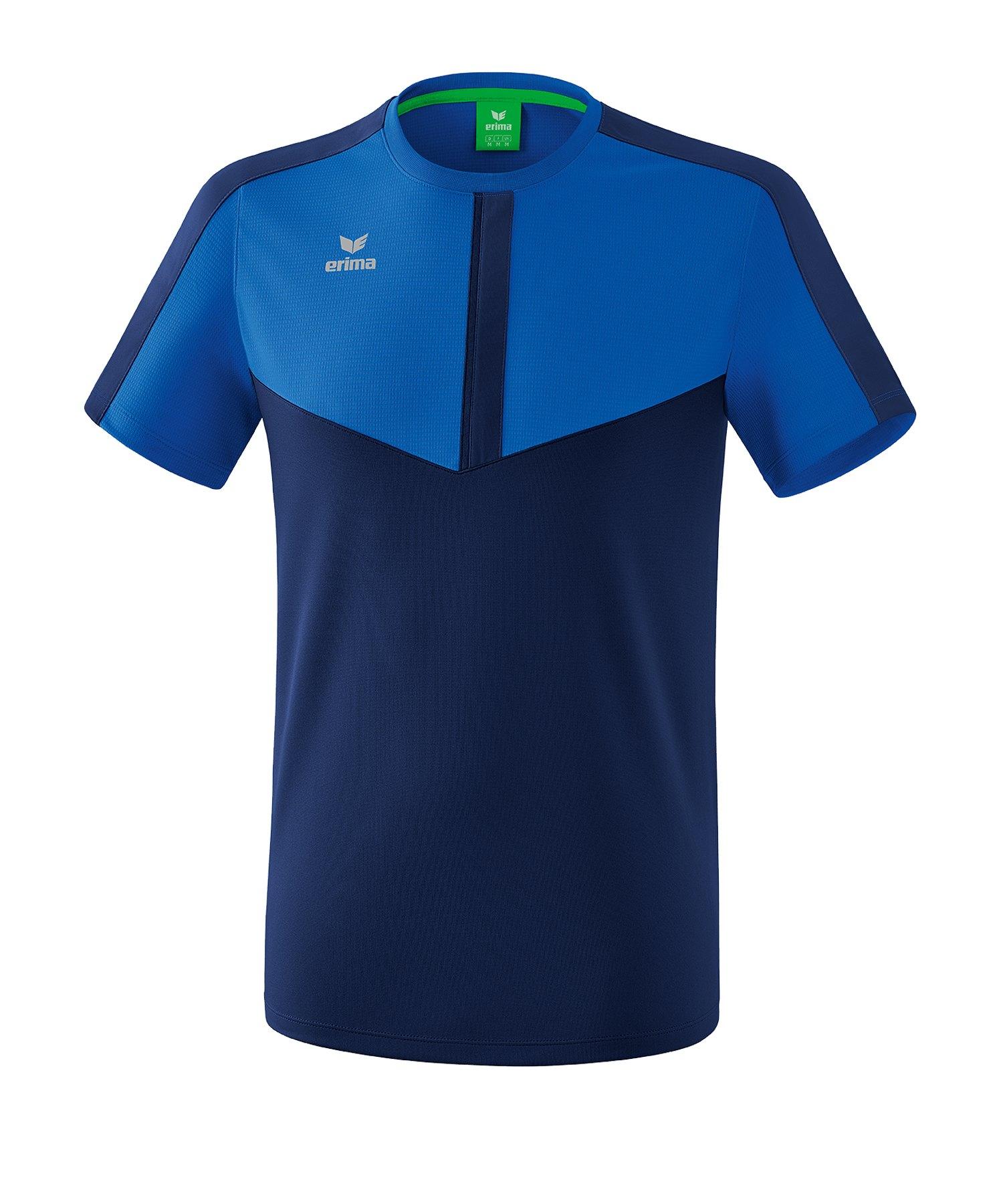 Erima Squad T-Shirt Kids Blau - blau