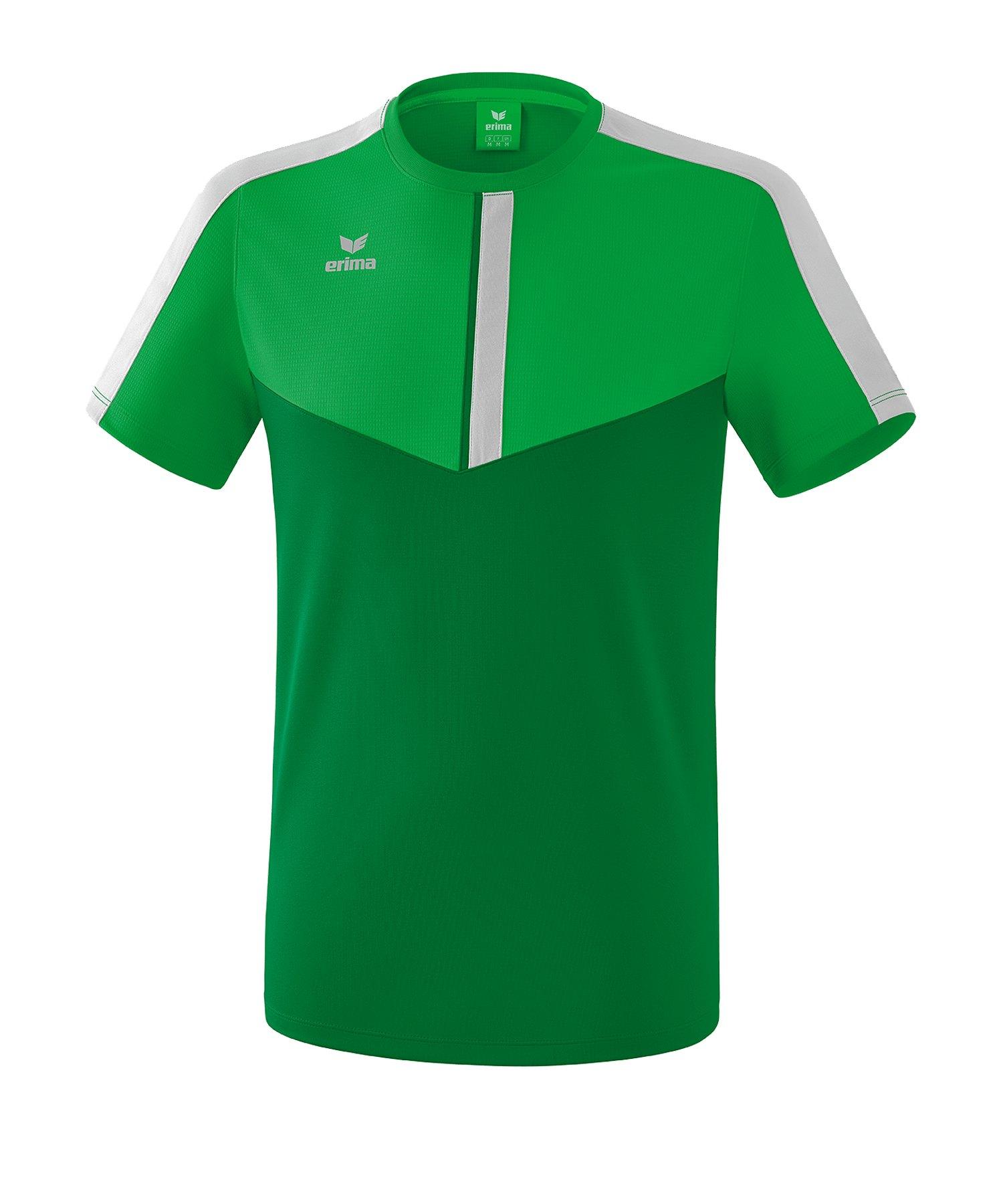 Erima Squad T-Shirt Grün Grau - Gruen