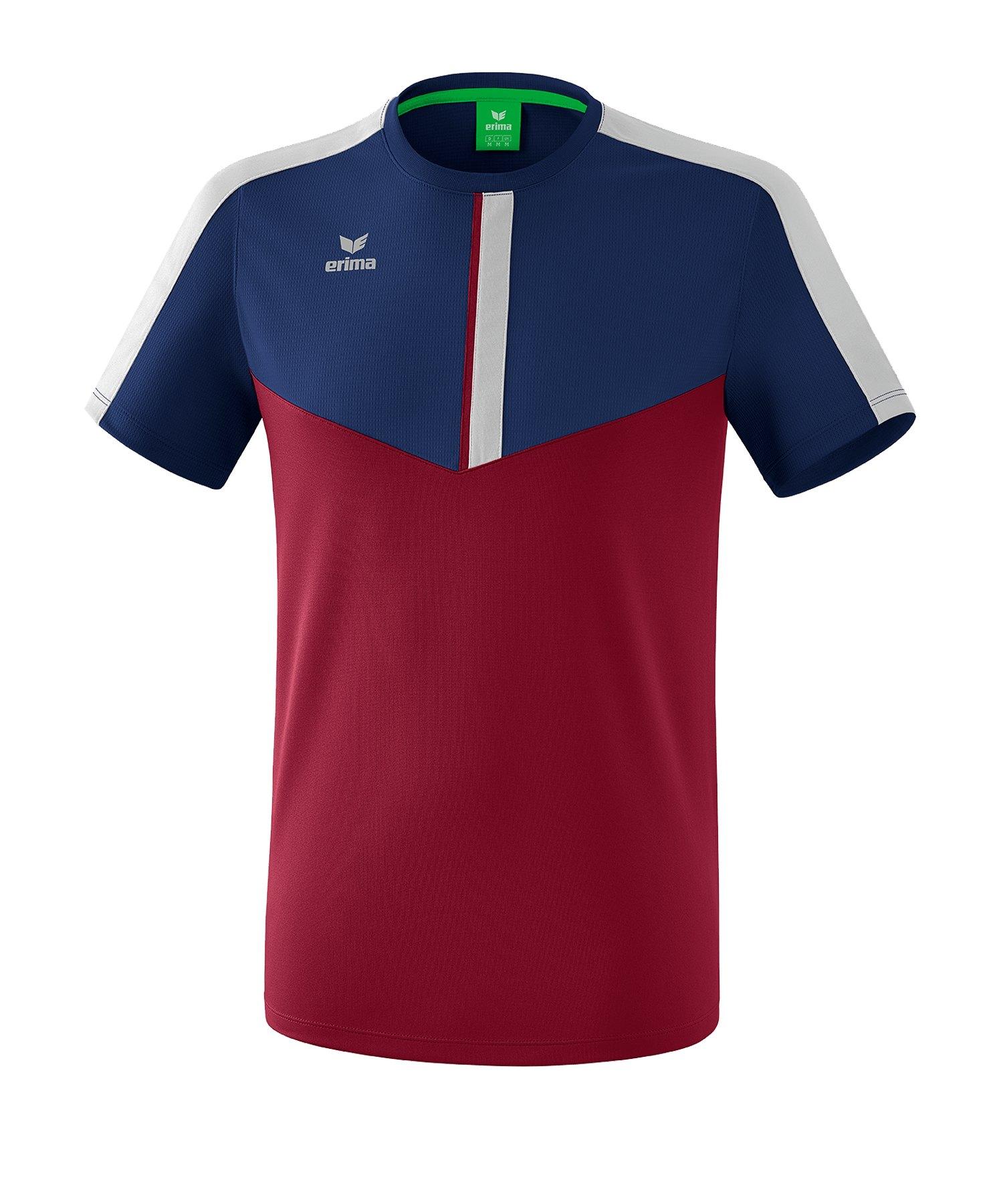 Erima Squad T-Shirt Kids Blau Rot - blau