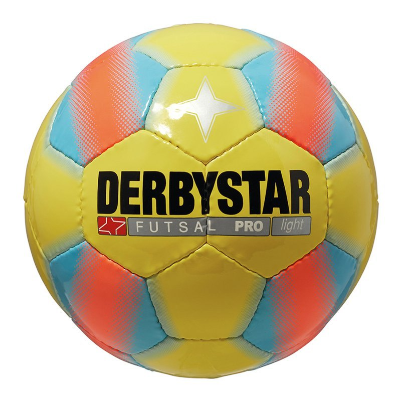 Derbystar Trainingsball Futsal Pro Light Gelb - gelb