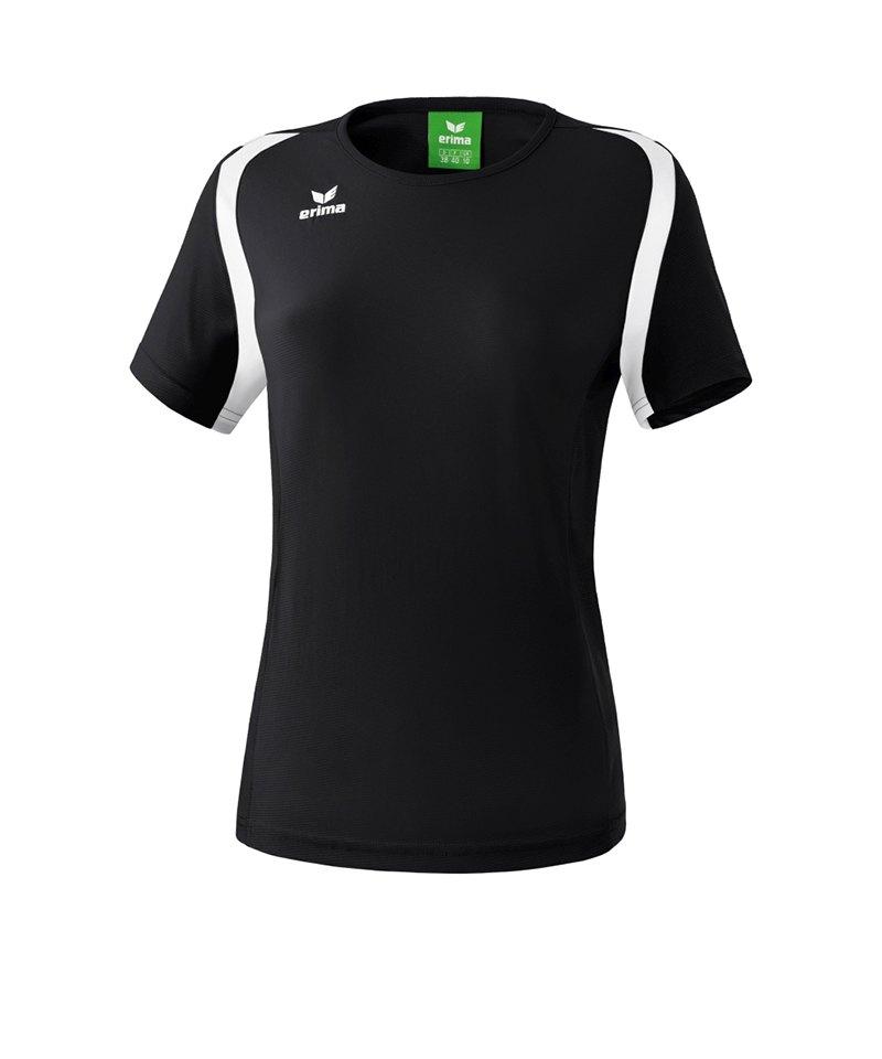 Erima T.Shirt Razor 2.0 Damen Schwarz Weiss - schwarz