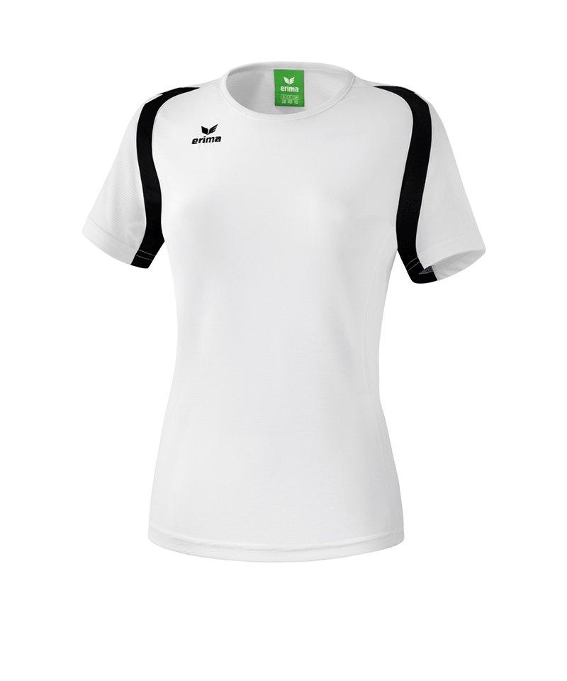 Erima T.Shirt Razor 2.0 Damen Weiss Schwarz - weiss