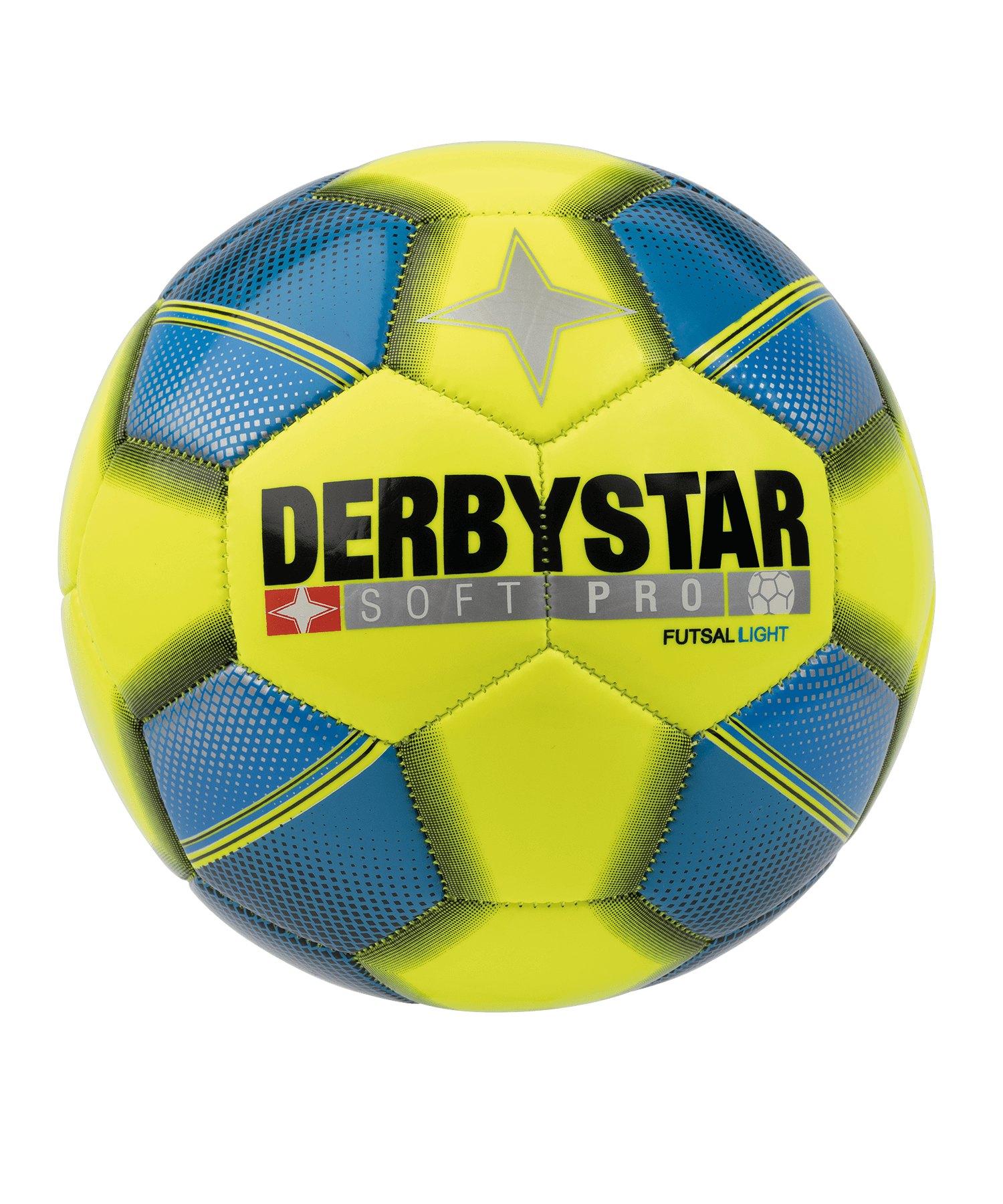 Derbystar Futsal Soft Pro Light Fussball F566 - gelb