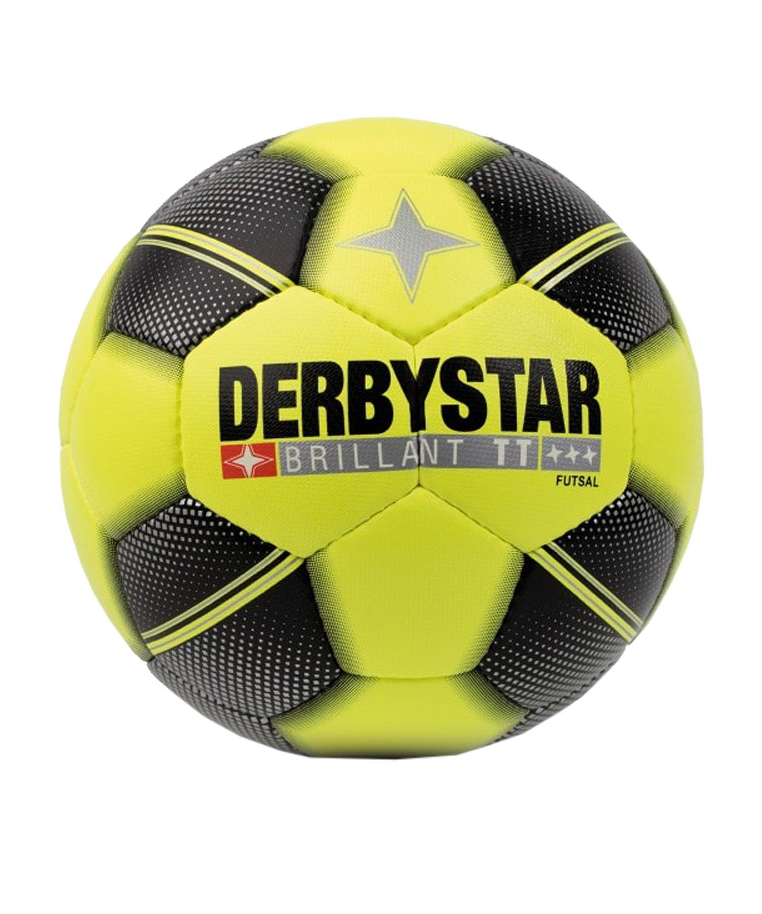 Derbystar Futsal Brillant TT Fussball Gelb F529 - gelb
