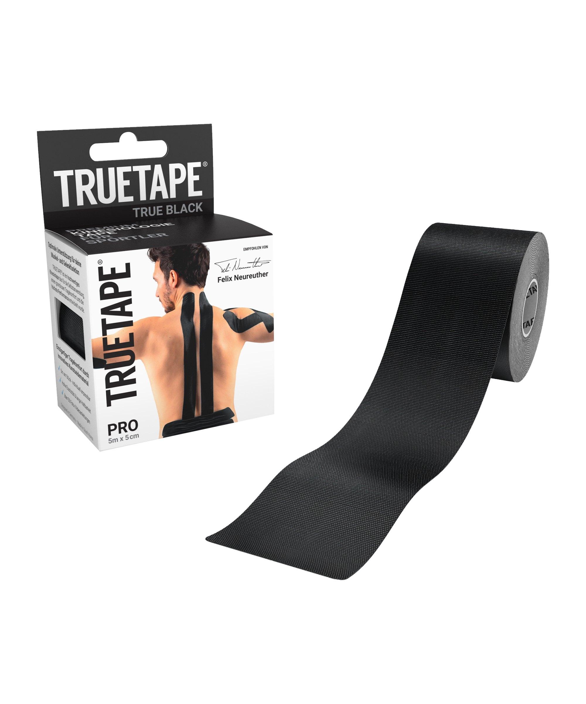 Truetape Athlete Edition Pro Uncut Schwarz - schwarz