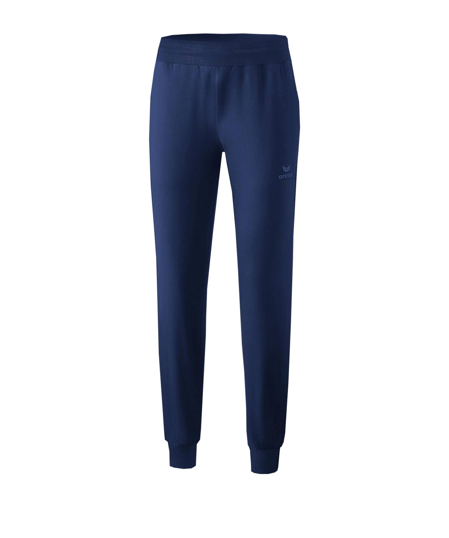Erima Basic Präsenationshose Damen Blau - blau