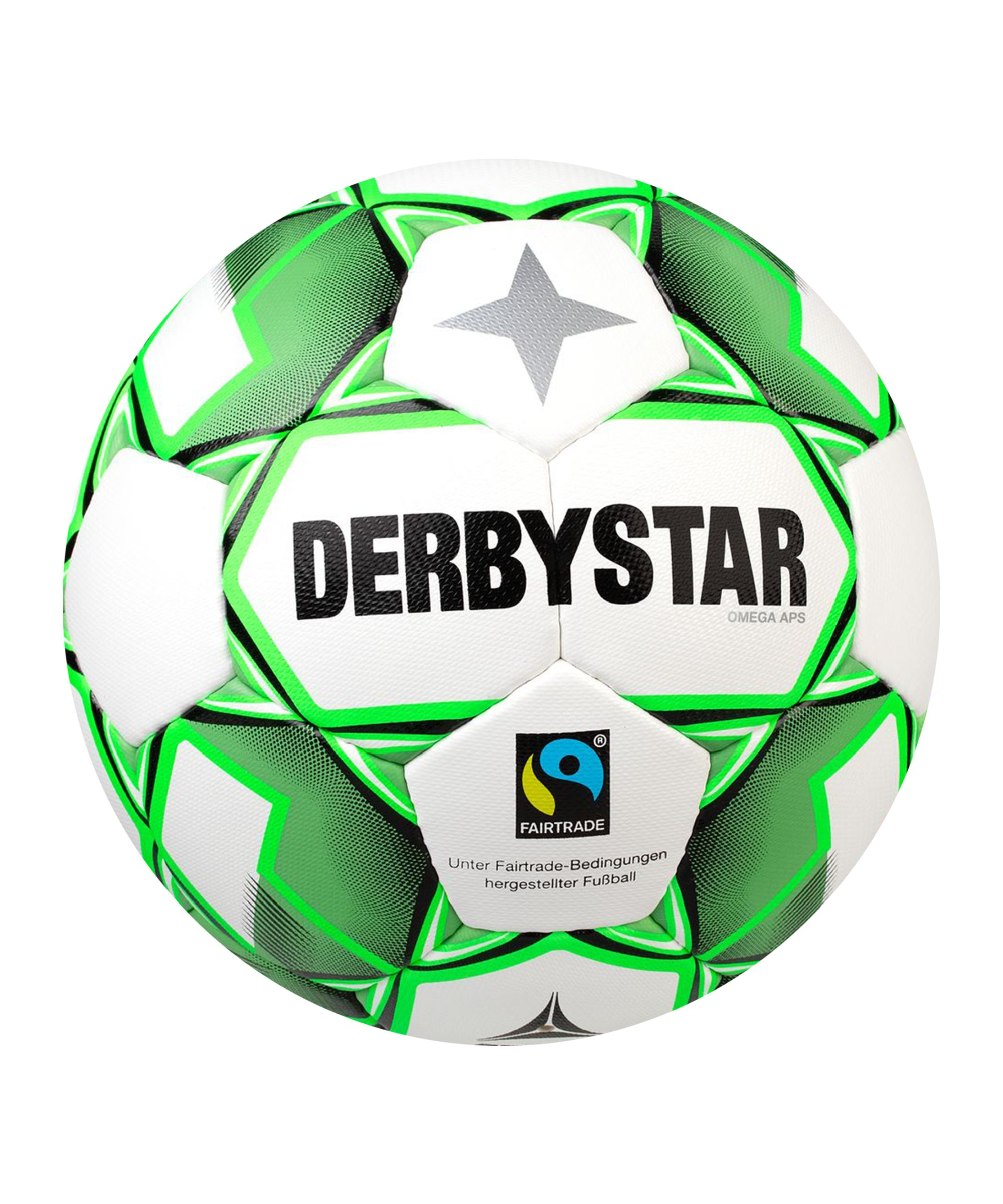 Derbystar Omega APS V20 Trainingsball Weiss F140 - weiss