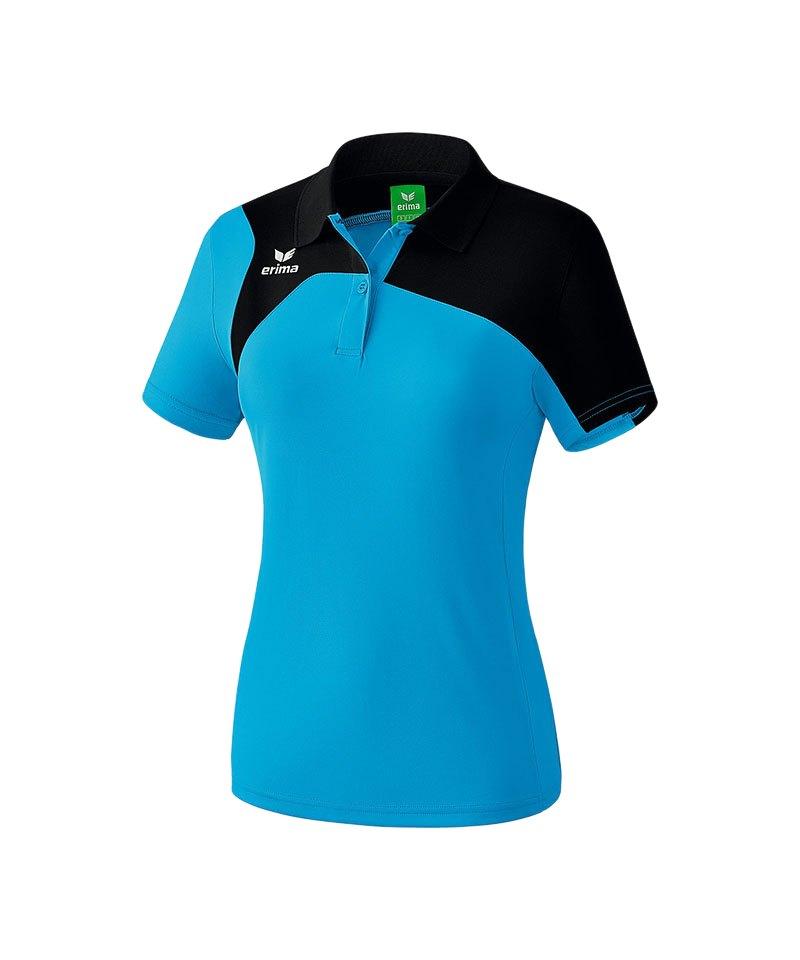 Erima Poloshirt Club 1900 2.0 Damen Hellblau - blau