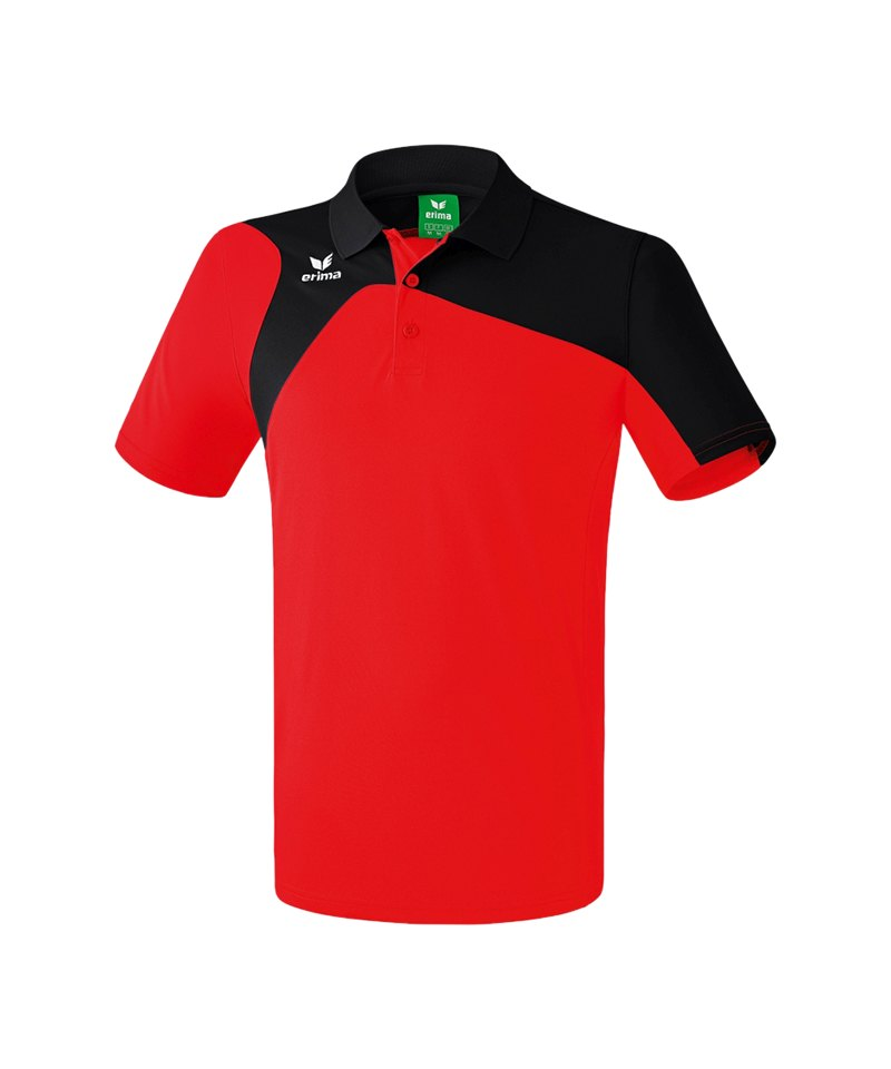 Erima Poloshirt Club 1900 2.0 Kinder Rot Schwarz - rot