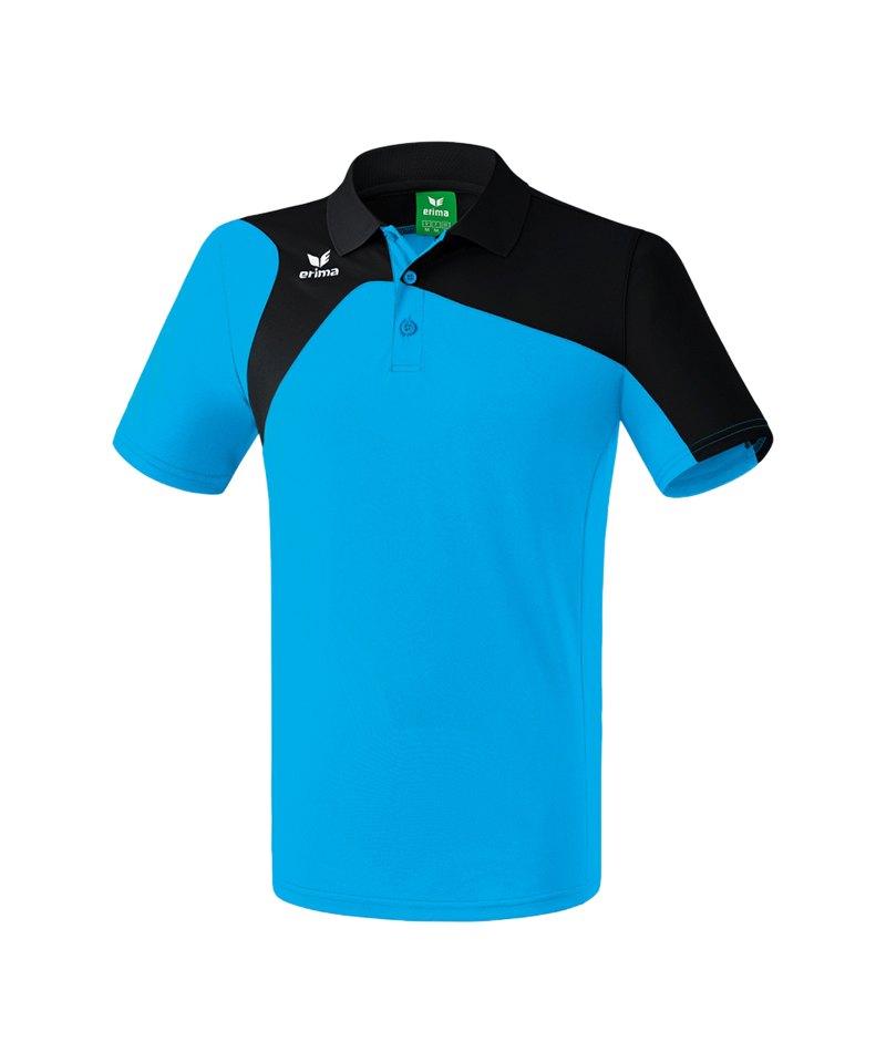 Erima Poloshirt Club 1900 2.0 Hellblau - blau