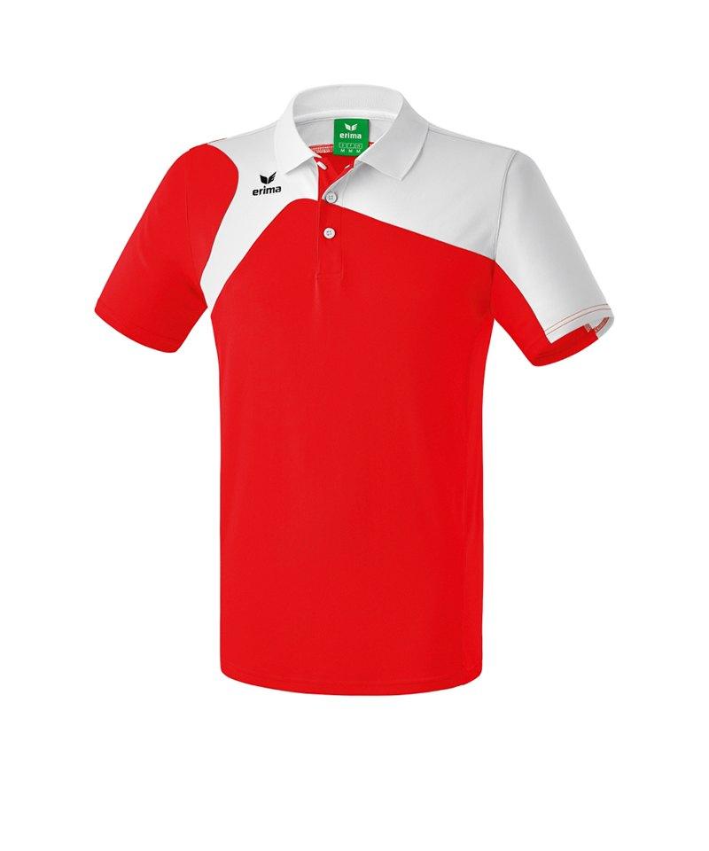 Erima Poloshirt Club 1900 2.0 Kinder Rot Weiss - rot
