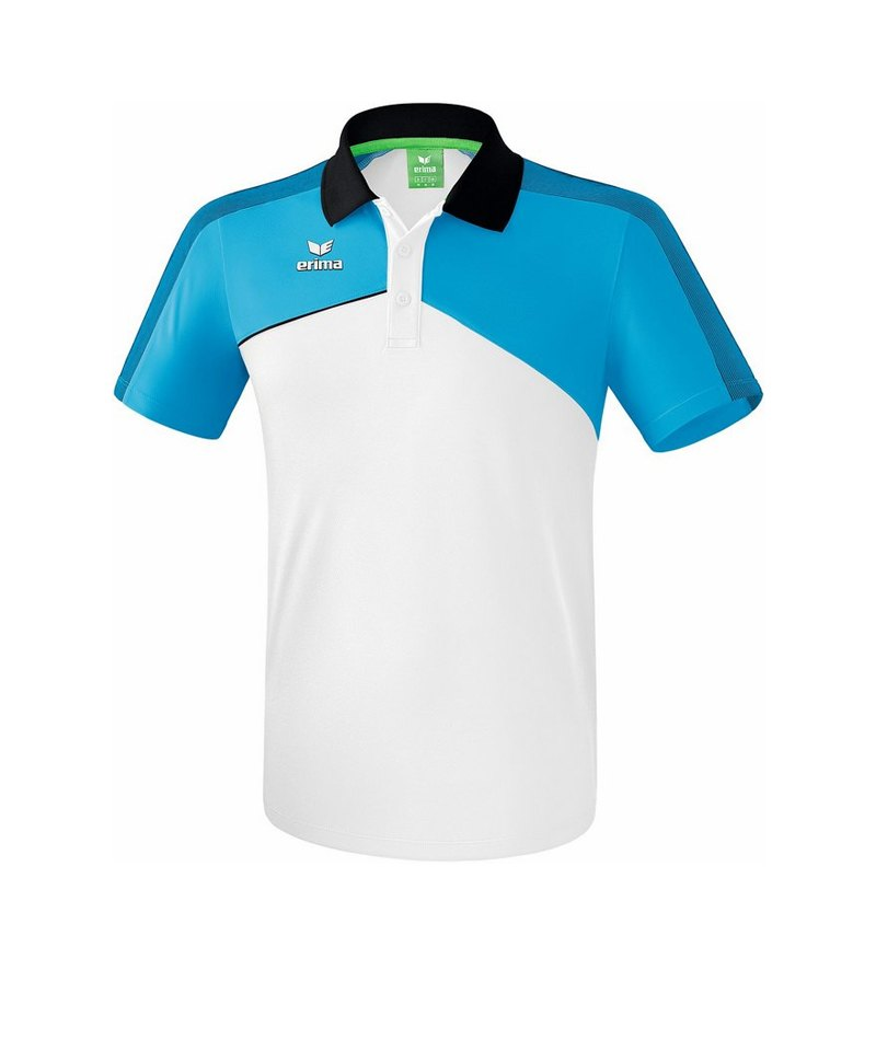 Erima Premium One 2.0 Poloshirt Kids Hellblau - blau