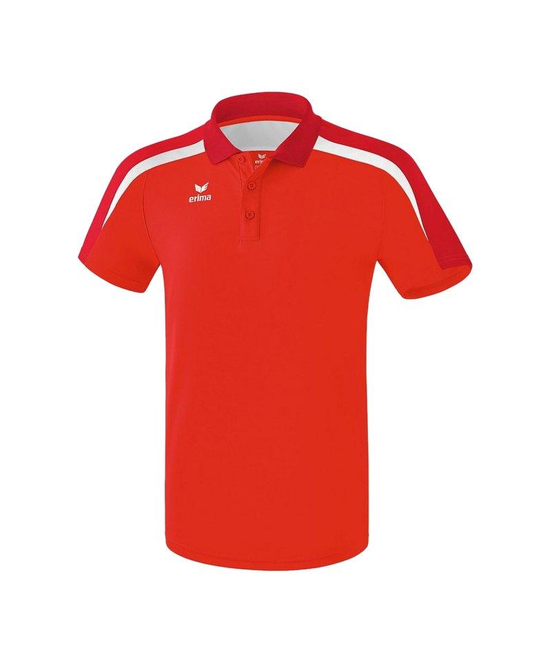 Erima Liga 2.0 Poloshirt Kids Rot Weiss - rot