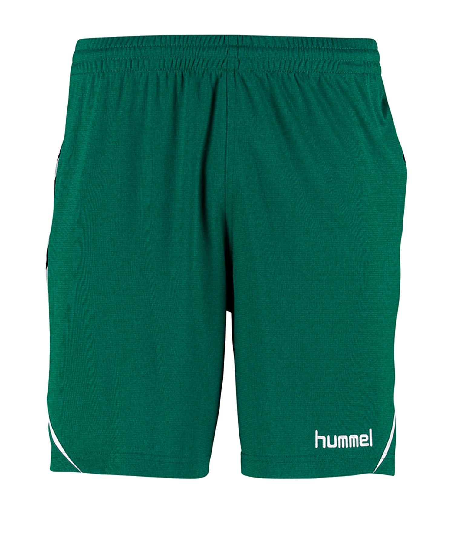 Hummel Authentic Charge Shorts Kids Grün F6140 - Gruen