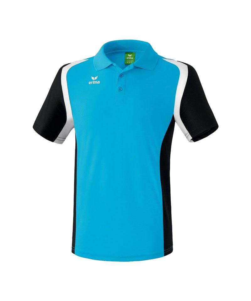 Erima Poloshirt Razor 2.0 Blau Schwarz - blau