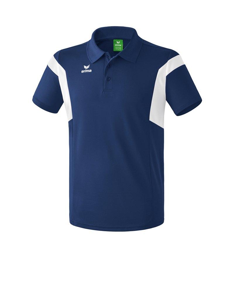 Erima Poloshirt Classic Team Dunkelblau - blau