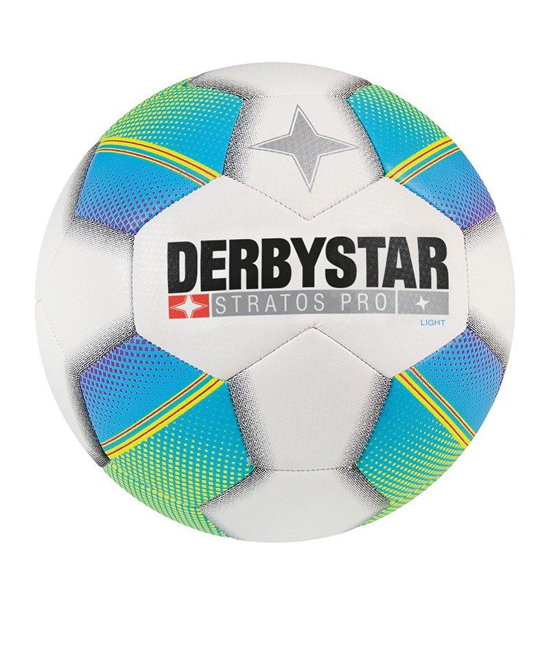 Derbystar Stratos Pro Light Fußball Weiss F165 - weiss