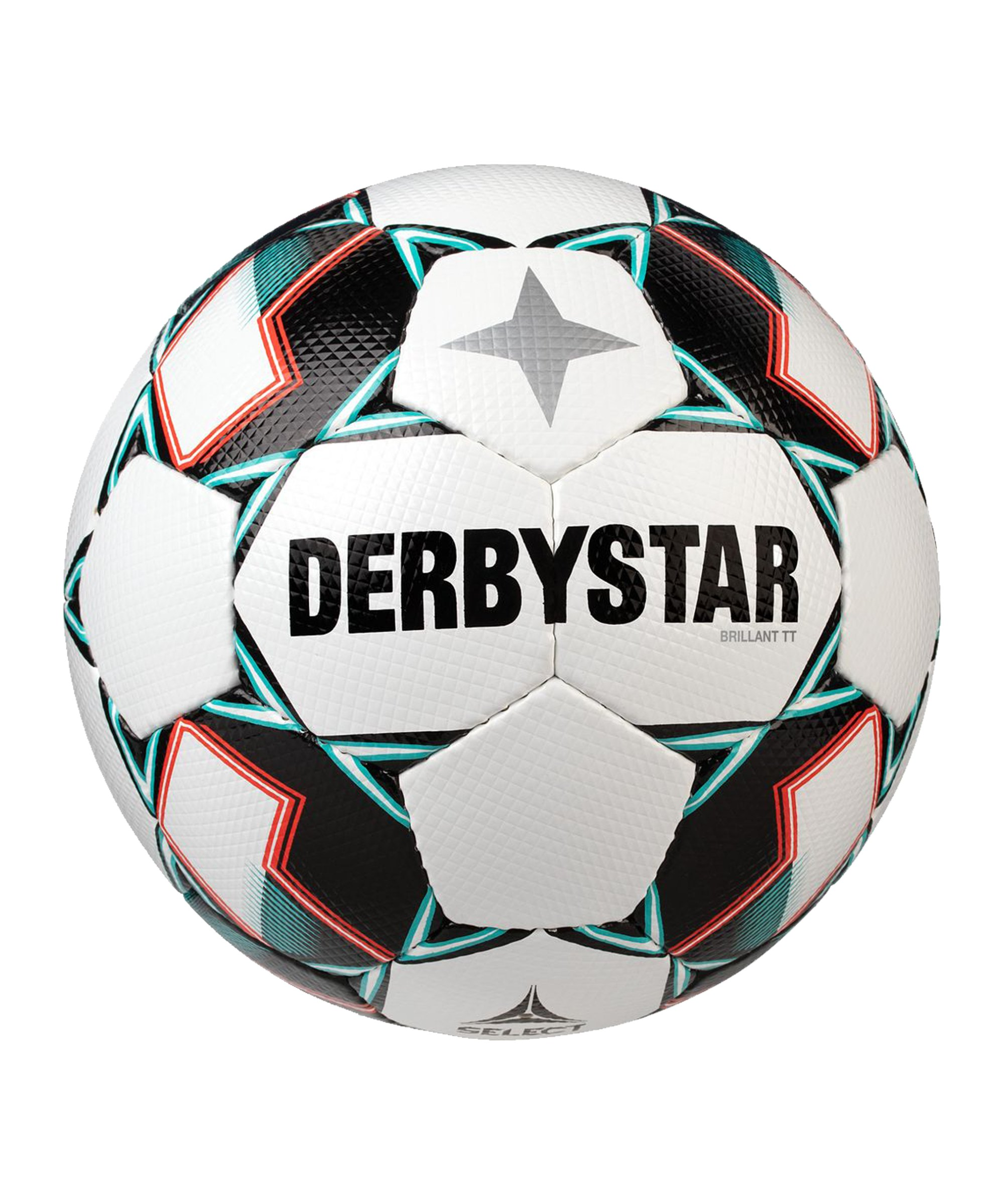 Derbystar Brilliant TT V20 Trainingsball F142 - weiss