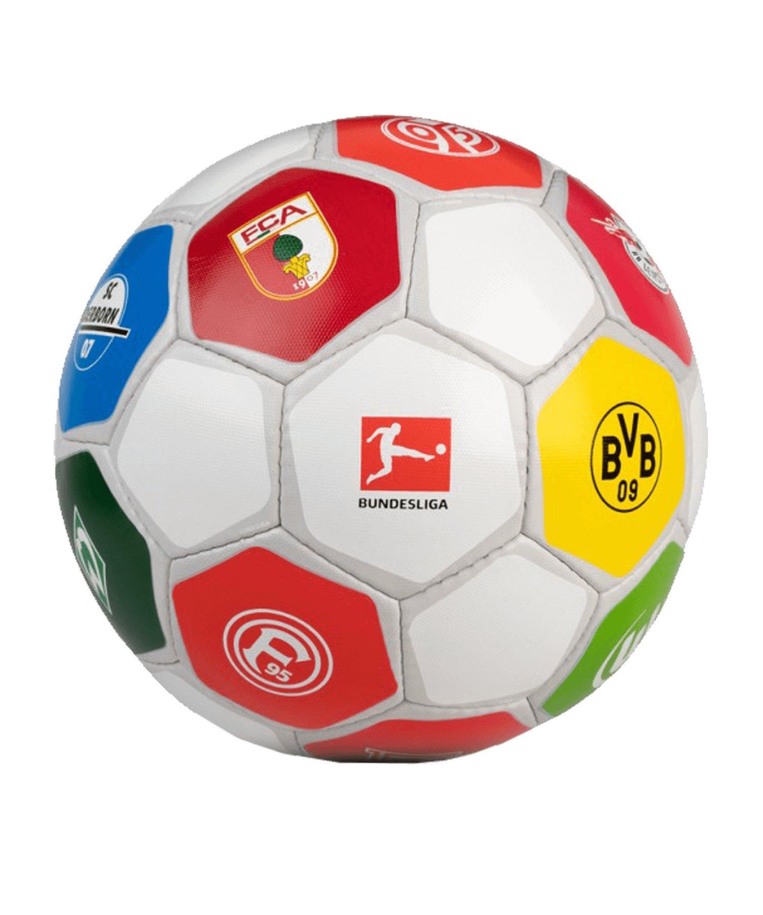 Derbystar Clublogo Pro Special Trainingsball Gr.5 Weiss F18 19/20 - weiss