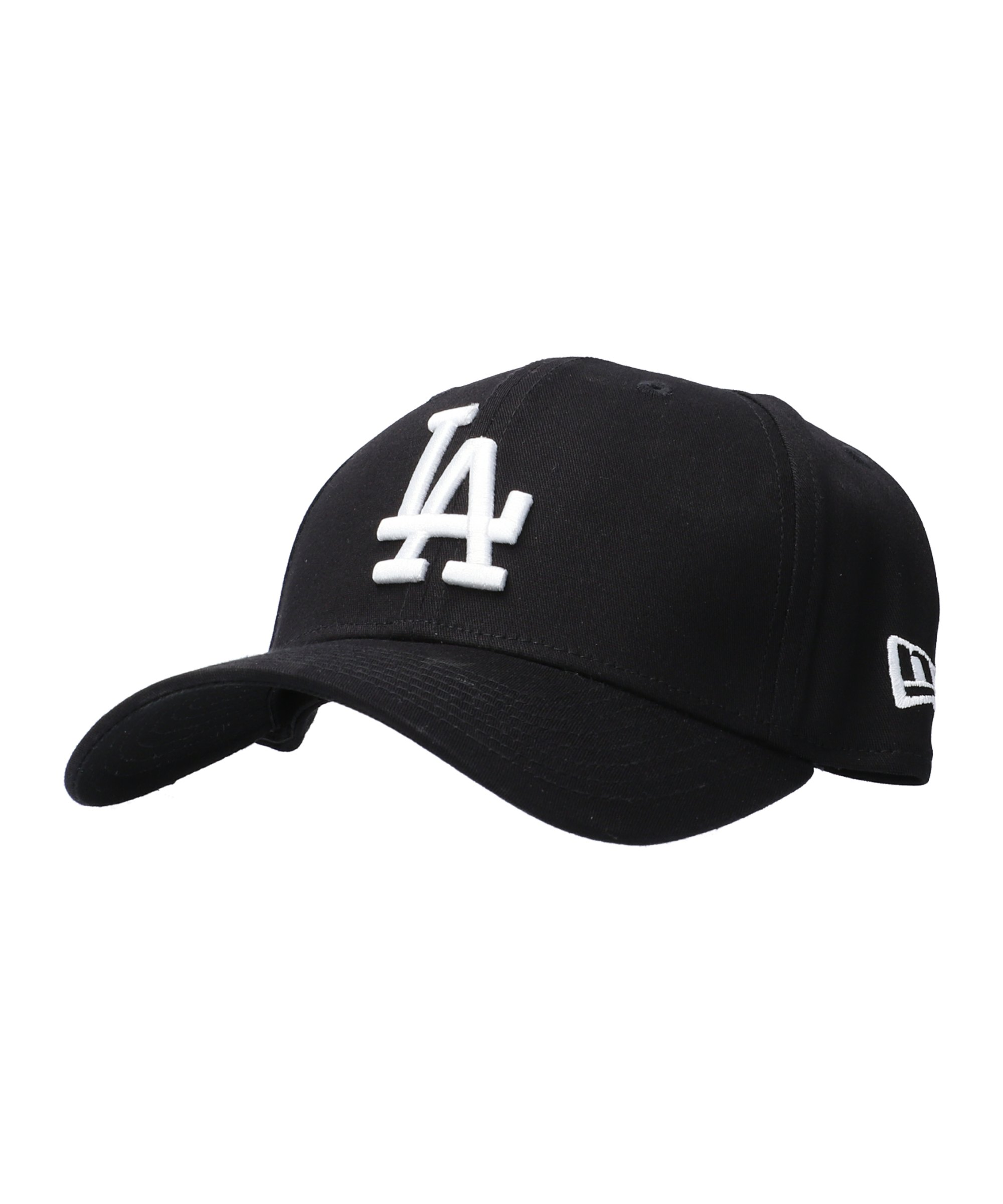 New Era Los Angeles Dodgers 39Thirty Cap Schwarz - schwarz