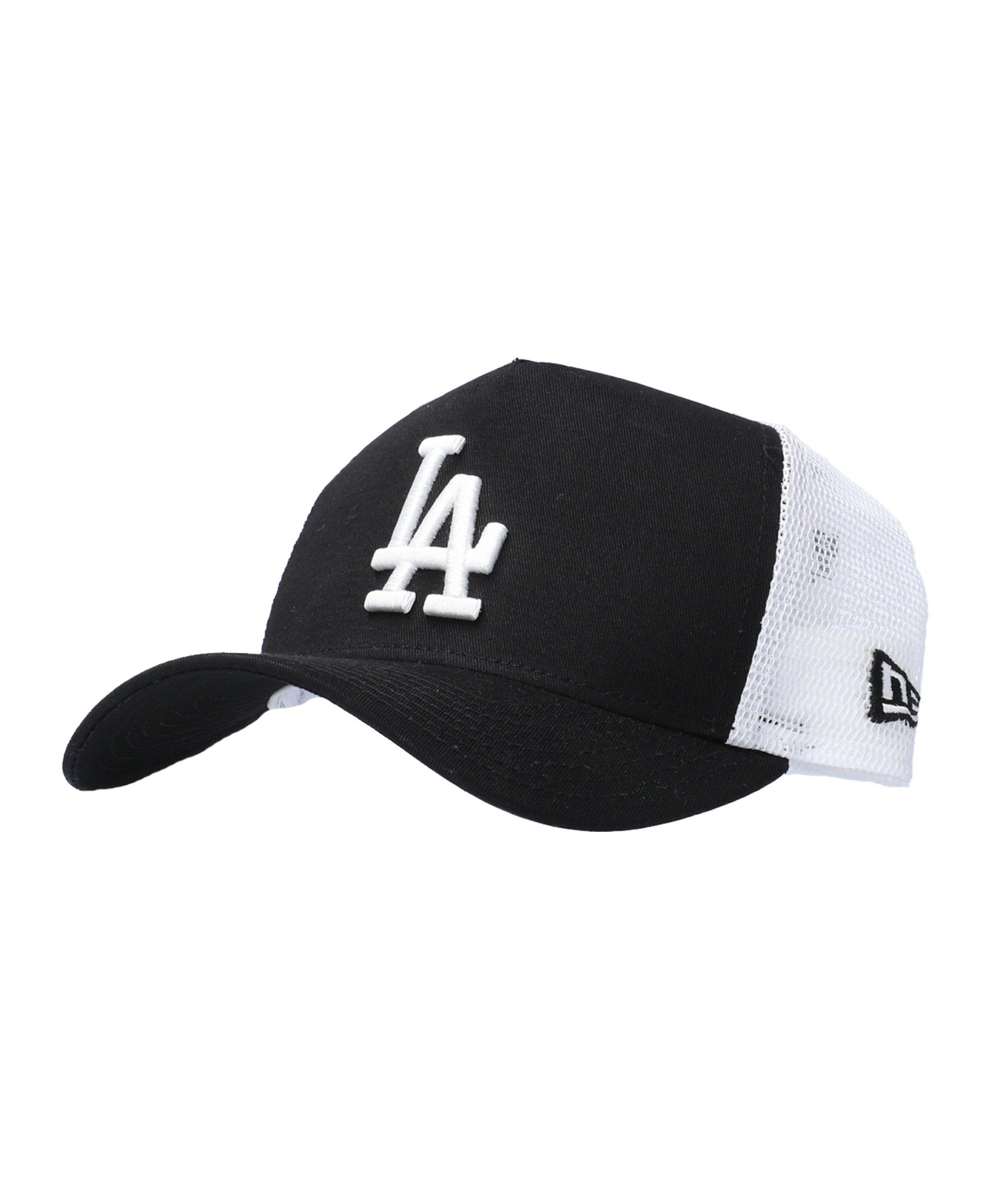 New Era Clean Trucker LA Dodgers Cap Schwarz - schwarz