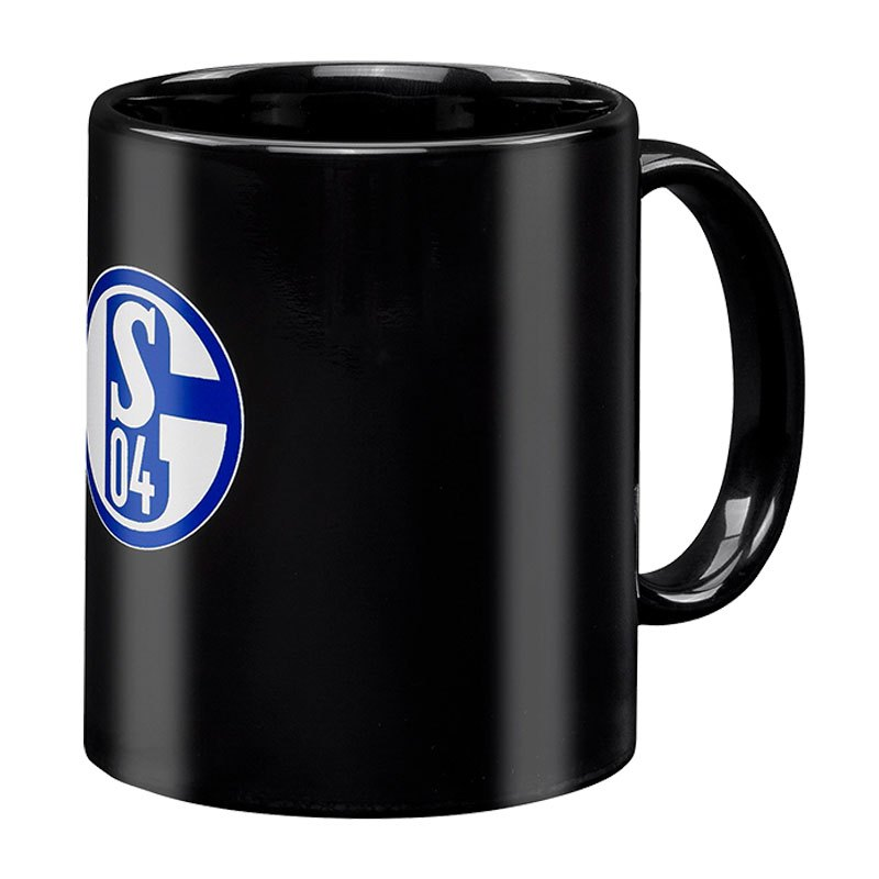 FC Schalke 04 Kaffeebecher Magic Tasse Schwarz - schwarz