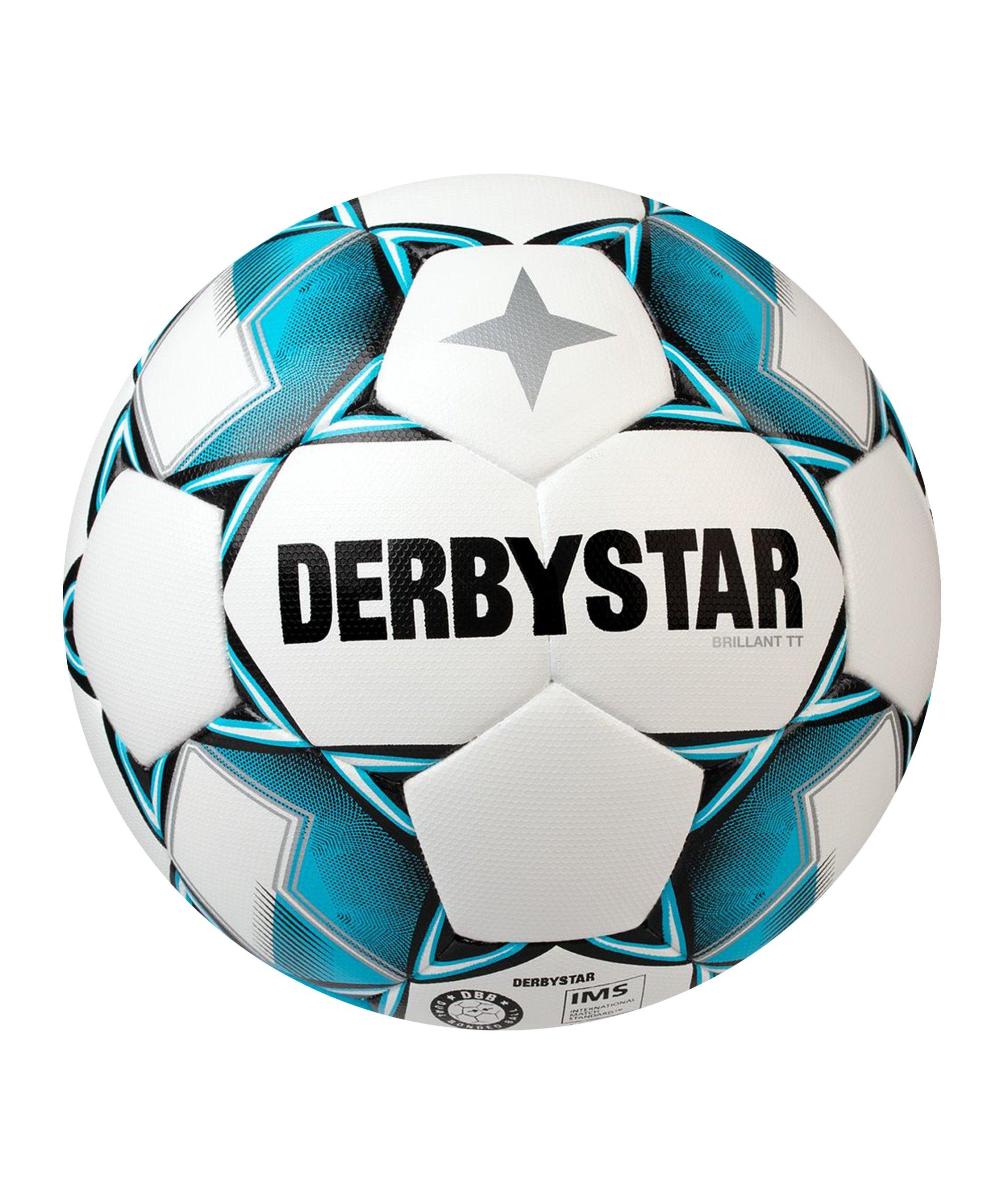 Derbystar Brillant TT DB v20 Trainingsball F162 - weiss