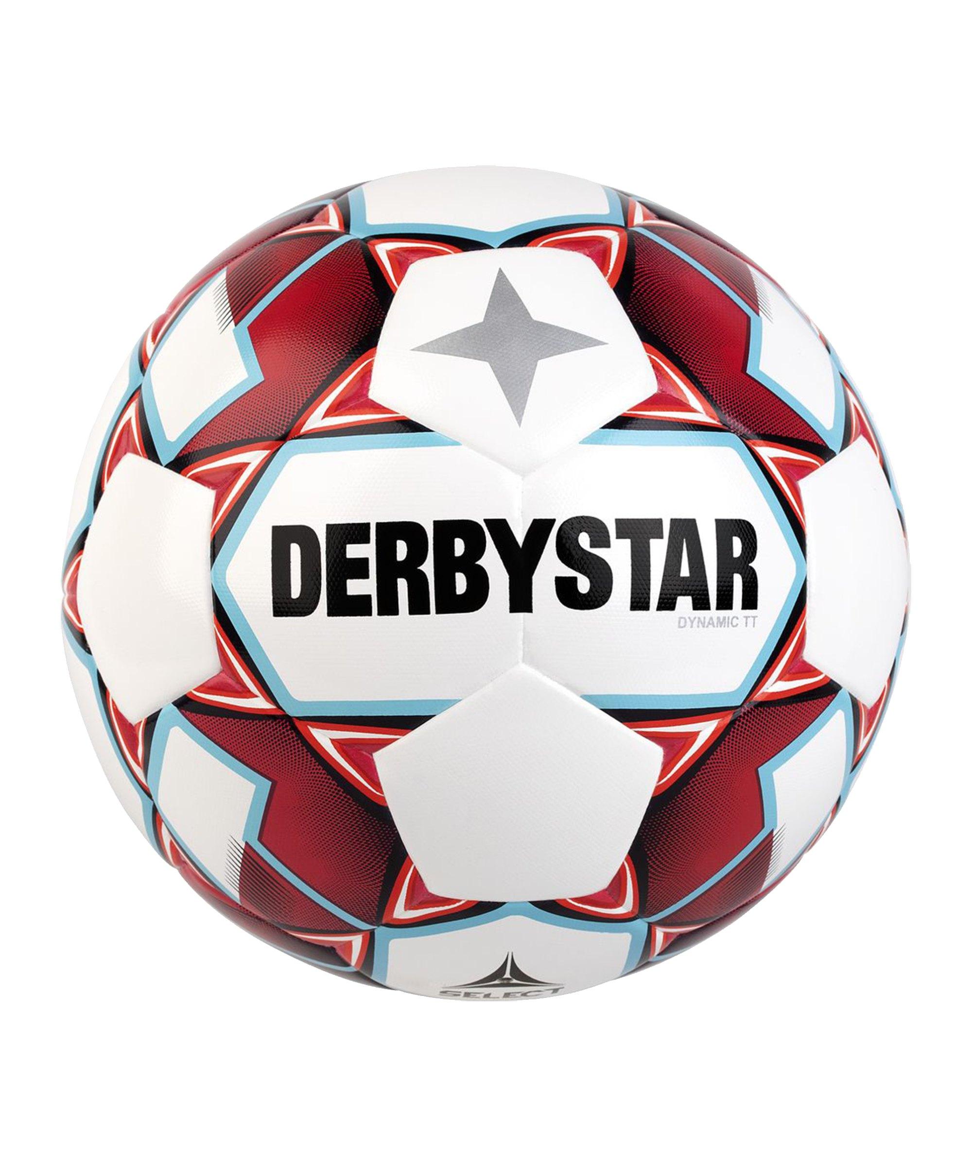 Derbystar Dynamic TT v20 Trainingsball Weiss F136 - weiss