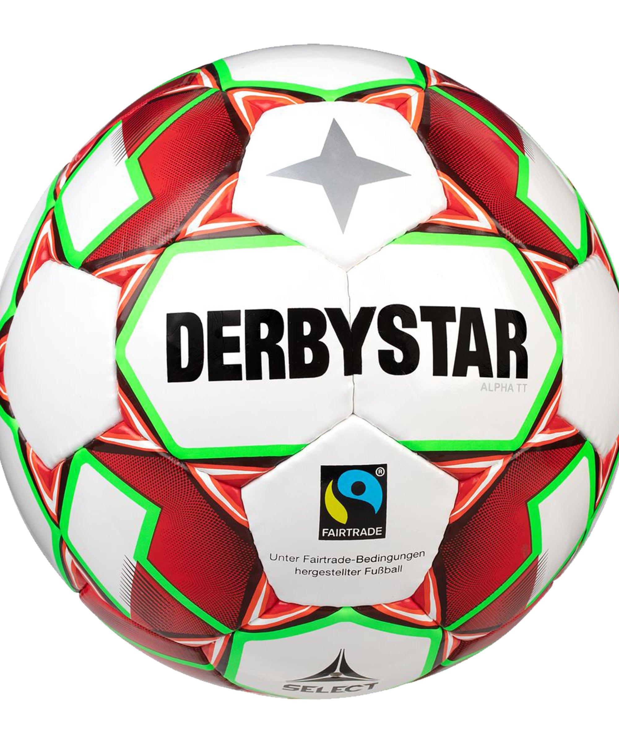 Derbystar Alpha TT v20 Trainingsball F134 - weiss